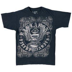 BillaBong Black Eagle Graphic T-Shirt